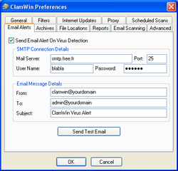antivirus gratuits Clamwin3