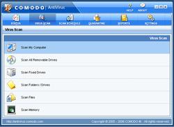 antivirus gratuits comodo5