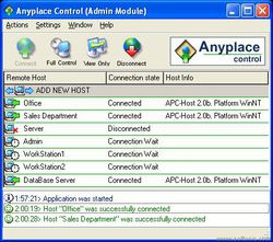 Anyplace Control screen 1