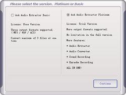 AoA Audio Extractor screen2