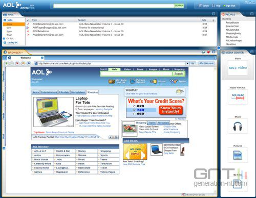 Aol openride screenshot