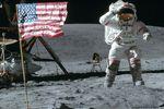 Le cratère laissé à la Lune par Apollo 16