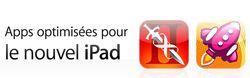 App Store nouvel iPad