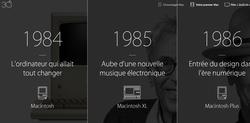 Apple 30 ans Mac