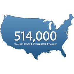 Apple emplois usa logo pro