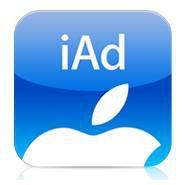 Apple iAd logo pro