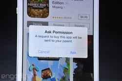 Apple iOS 8 partage famille