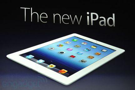Apple iPad 3 tablette