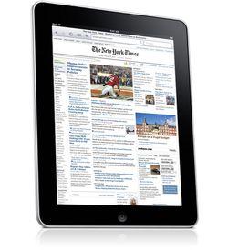Apple iPad NYT