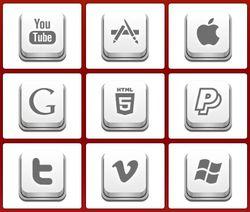 Apple Keyboard screen