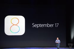 apple keynote iOS 8