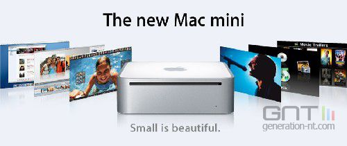 Apple mac mini intel