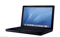 Apple macbook intel noir