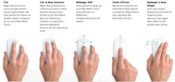 Apple Magic Mouse actions