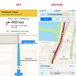 Apple Maps bouchons