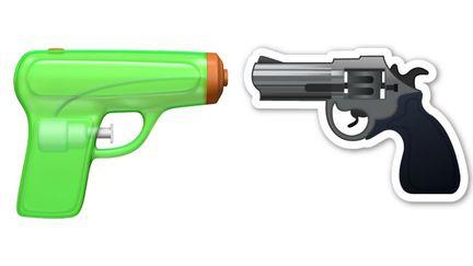 Apple pistolet à eau
