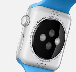 Apple Watch capteur