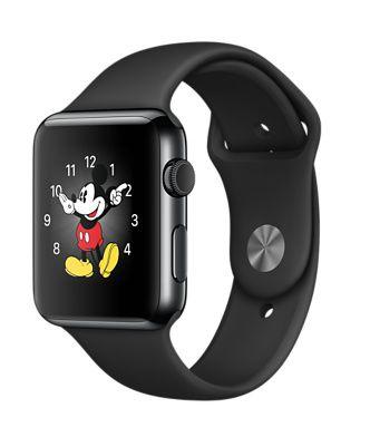 Apple Watch gris sombre