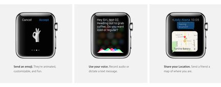Apple watch ways to connect