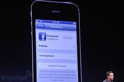 Apple WWDC iOS 6 Facebook 02