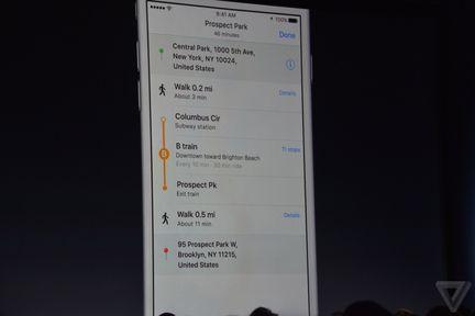 apple wwdc maps transport