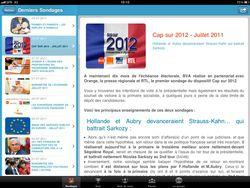 Appli BVA iPad