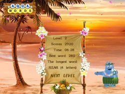 Aqua Words screen 2