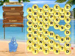 Aqua Words screen