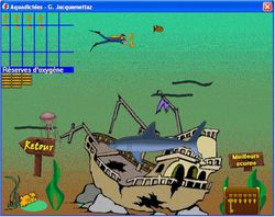 Aquadictées screen1