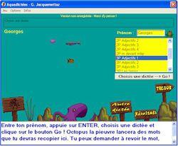 Aquadictées screen2