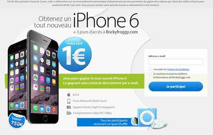 Arnaque iPhone 6 1?