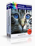 Artensoft Photo Mosaic Wizard : créer un poster avec des milliers de photos