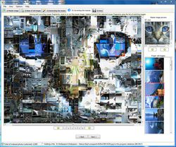 ArtensoftPhotoMosaicWizard screen 2