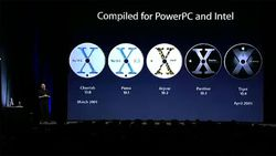 Article n° 104 - L'histoire Apple - WWDC 2005 PPC Intel