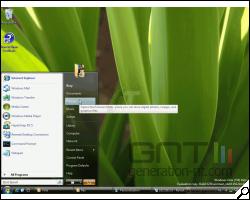 Article 106 test windows vista 36 windows vista menu demarrer 250 200