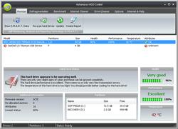 Ashampoo HDD Control screen 1