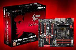 ASRock Fatal1ty Z68 Professional Gen3 boîte