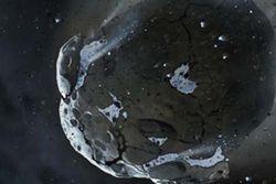 asteroide composé d'eau en dehors système solaire