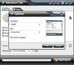 Astroburn Lite screen 1