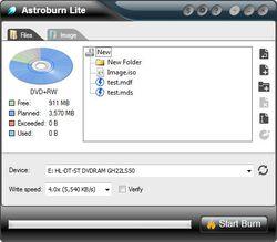 Astroburn Lite screen 2