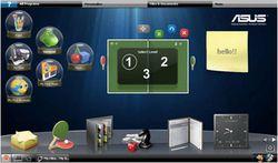 Asus Eee PC 1001PQ interface
