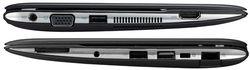 Asus Eee PC 1025C côtés