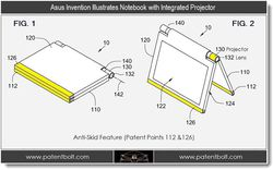 Asus notebook projecteur 1
