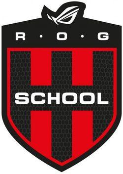 Asus RoG School - logo