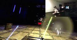 Atomic VR HTC Vive lightsaber