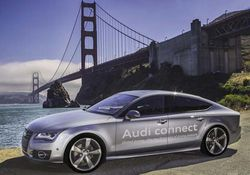 Audi voiture autonome