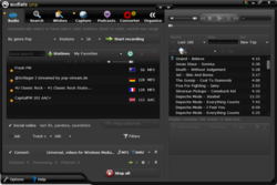 Audials RadioTracker screen1