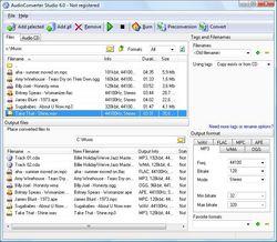 AudioConverter Studio  screen