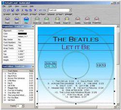 AudioLabel CD Label Maker screen1