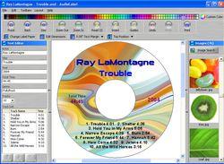 AudioLabel CD Label Maker screnn 2
